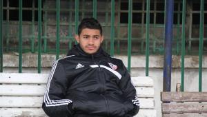 ياسر ابراهيم لاعب الزمالك