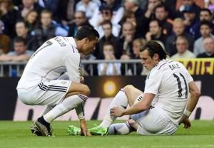 ريال مدريد يواصل مطاردة برشلونة بثلاثية في مالاجا مع اصابة بيل و مودريتش