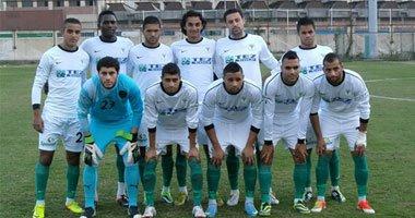 المصري يتقدم على اتحاد الجزائر بهدف في الشوط الأول