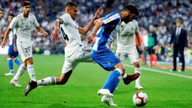 أسينسيو يقود ريال مدريد لفوز صعب على إسبانيول