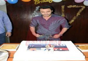 الصقر يحتفل بعيد ميلاده الاربعين