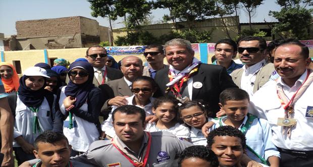 شباب الخارجة فى البطولة المجمعة لدورى مراكز الشباب لكرة القدم