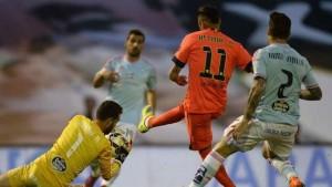 برشلونة يحتفظ بصدارة الليجا بفوز باهت علي سيلتا فيجو
