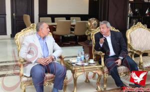 خاص بالصور..محافظ البحر الأحمر يستقبل وزير الشباب والرياضة